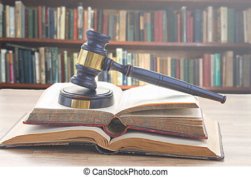 legno, legge, martelletto