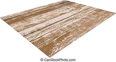 legno, legno, o, mage, pavimento