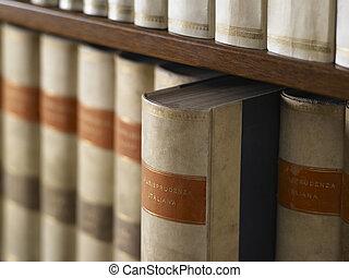 legno, libri, encyclopedic, biblioteca