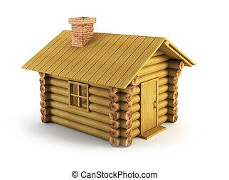 legno, log-house