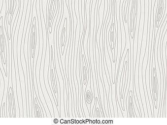 legno, luce, grigio, texture., vettore, legno, fondo