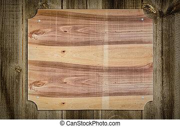 legno, nameboard, recinto
