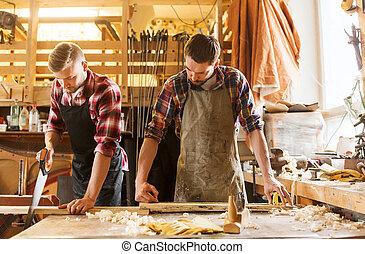 legno, officina, Sega, carpentieri, lavorativo