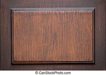 legno, piastra, vecchio, fondo