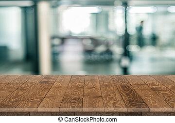 legno, prodotto, collocamento, tabletop, prospettiva