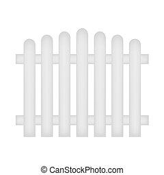 legno, recinto bianco
