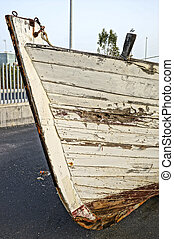 legno, scafo, barca
