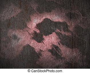 legno, sfondo rosa, macchie