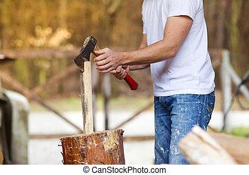 legno, soppressione dei bit di peso minore, uomo