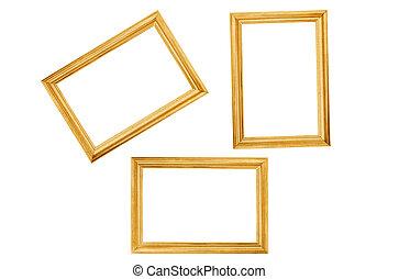 legno, strutture, bianco, isolato, fondo