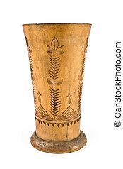 legno, tazza