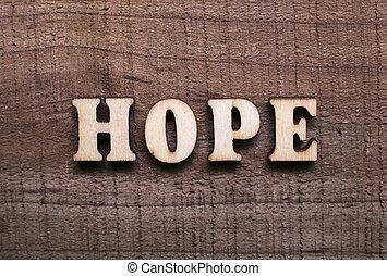 legno, testo, speranza