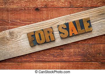 legno, tipo, segno vendita