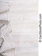 legno, tovaglia, checkered