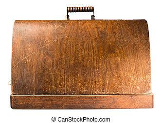 legno, valigia