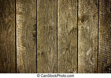 legno, vecchio, assi, fondo
