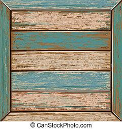 legno, vendemmia, texture., colorare