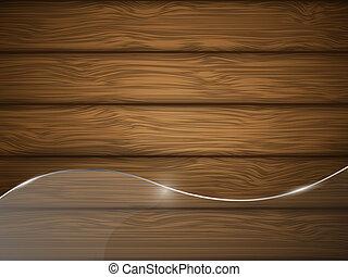 legno, vetro., struttura