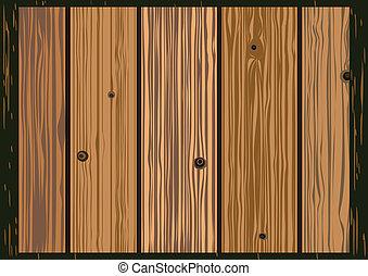 legno, vettore, vecchio, assi, struttura