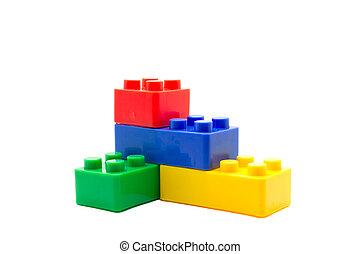 bausteine lego plastik hintergrund wei es bausteine. Black Bedroom Furniture Sets. Home Design Ideas