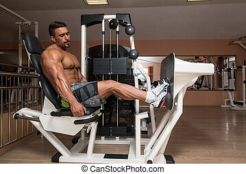 Legs Calf Exercise