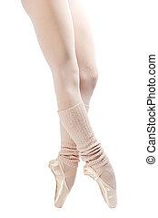 legs in ballet shoes 2