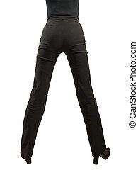 Legs - Woamn legs - view of back