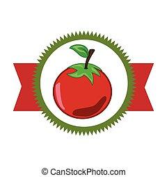 legume fresco, produto, selo