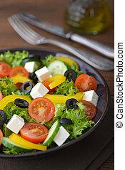 legume fresco, salada