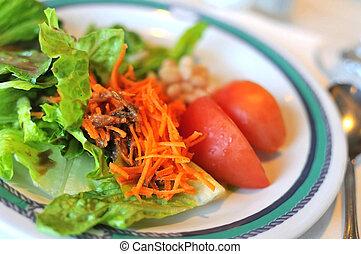 legume misturado, salada