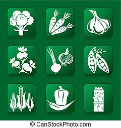 legumes, ícones