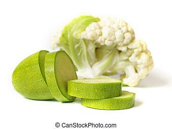 legumes, branco