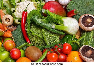 legumes, fruta