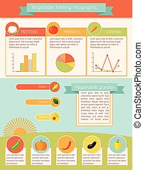 legumes, infographic, jogo
