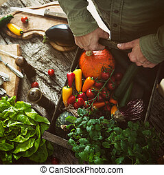 legumes, madeira, orgânica