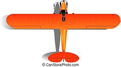 lehký, svobodný- stříkačka letadlo