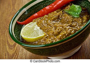 Garlic Flavored Lentils - Lehsuni Daal - Garlic Flavored...