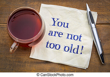 lei, ara, non, anche, old!