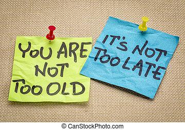 lei, ara, non, troppo vecchio