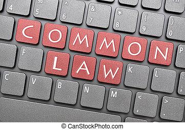 lei, comum, tecla, teclado