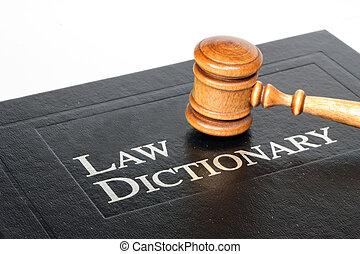 lei, dicionário