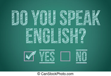 lei, parlare, inglese