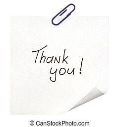 lei, ringraziare, segno