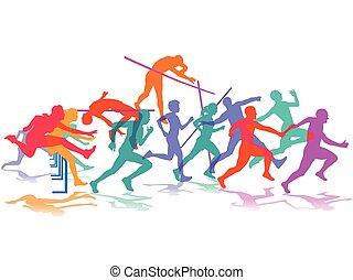 Leichtathletik Sport.eps - Athletics, sport