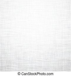 leinen, weißes, texture.