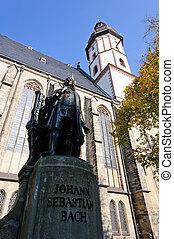 St.Thomas Church in Leipzig, Saxony, Germany