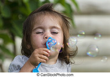 Leisure and Recreation - Soap Bubbles