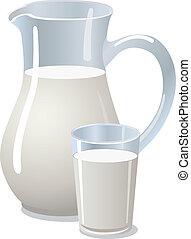 leite jarro