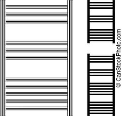 heizk rper zentralheizung icons web satz silhouette vektor suche clipart. Black Bedroom Furniture Sets. Home Design Ideas