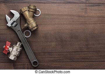 leitungsrohre, verstellbar schraubenschlüssel